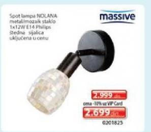Spot lampa Nolana