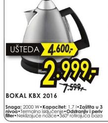 Električni Bokal KBX 2016