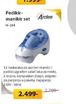 Manikir-pedikir set M-284