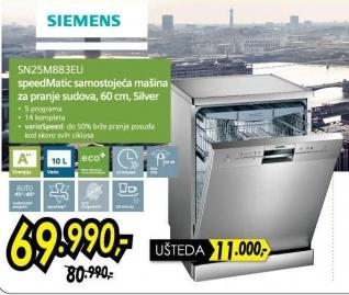 Mašina za pranje sudova Sn25m883eu