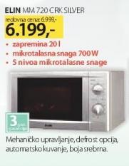 Mikrotalasna MM720CRK