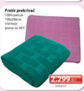 Frotir prekrivač