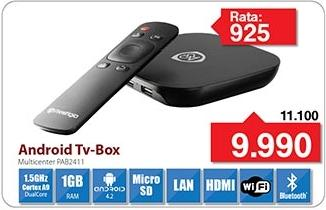 Android Tv Box MultiCenter Pab2411