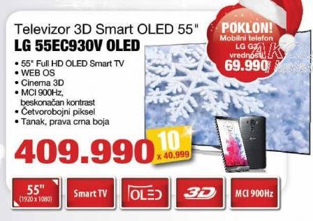 """Televizor LED 55"""" 3D 55Ec930v Oled"""
