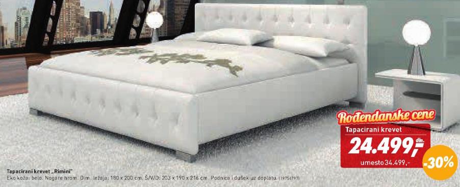 Tapacirani krevet Rimini