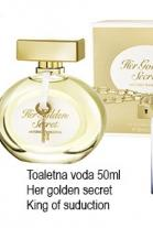 Toaletna voda Golden secrets