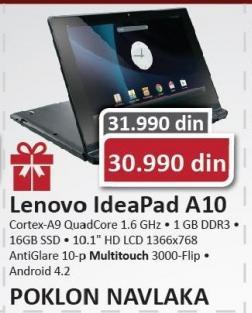 Laptop IdeaPad A10