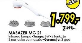 Masažer Mg 21