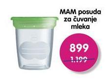 Posuda za čuvanje mleka