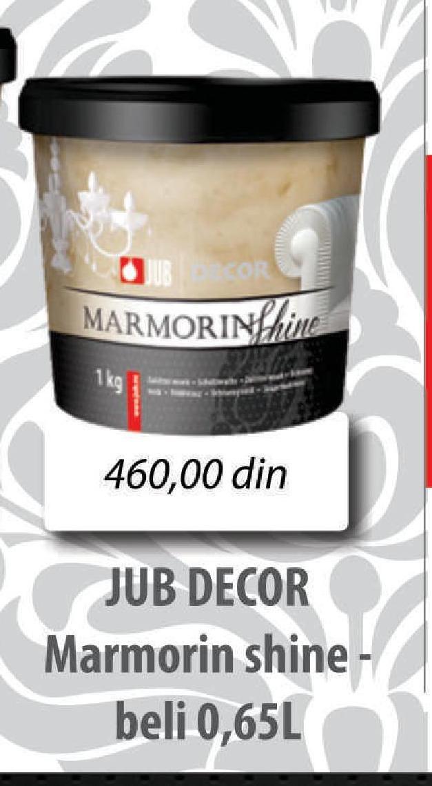 Boj decora Jubin Decor