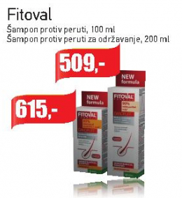Šampon protiv peruti Fitoval
