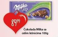 Čokolada lešnik