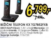 Bežični telefon  KX-TG 7852 FXB