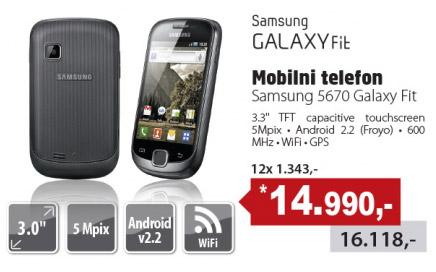 Mobilni Telefon 5670 Galaxy Fit