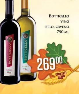 Belo vino Botticello