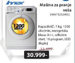 Masina za veš XWA71252WEU