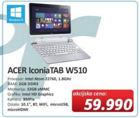 Netbook Tablet IconiaTAB W510