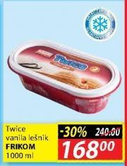 Sladoled vanila i lešnik