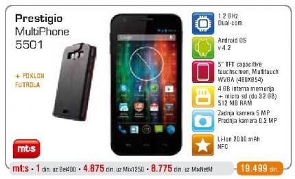Mobilni telefon Multiphone 5501