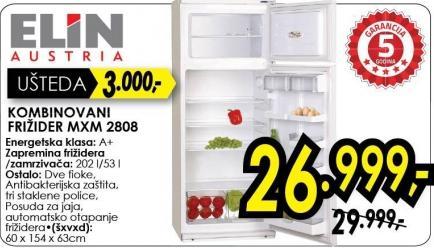 Kombinovani frižider Mxm 2808