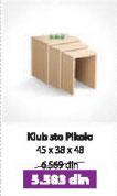 Klub sto 3D
