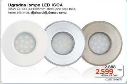 Ugradna lampa Igoa