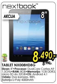 Tablet Nx008hd8g Nextbook