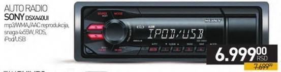 Auto Radio DSXA40UI