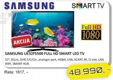 "Televizor LED 32"" UE32F5500"