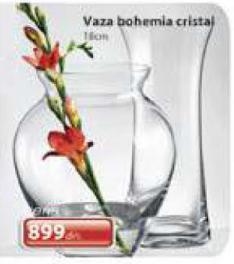 Vaza bohemia cristal