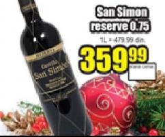 Crno vino Castillo San Simon
