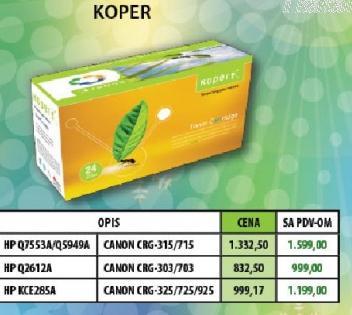 Toner HPKCE285A