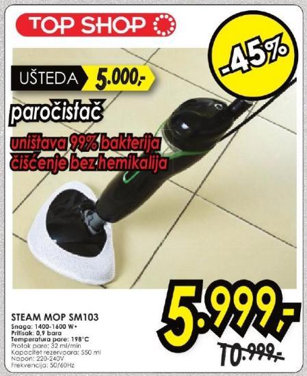 Paročistač Steam Mop Sm103 Top Shop