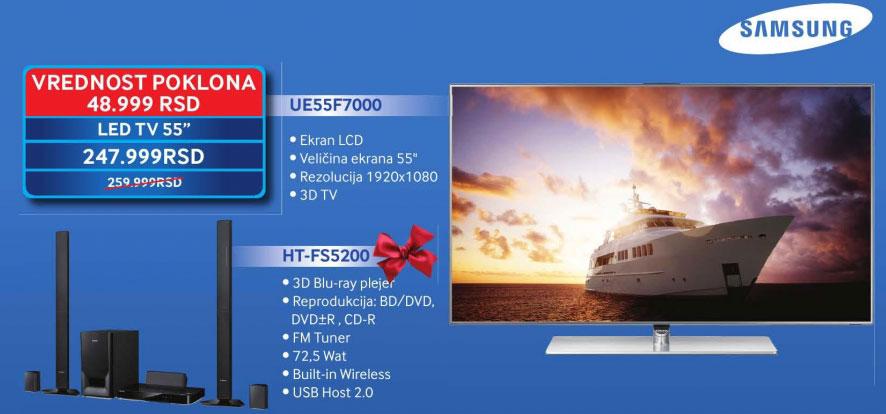 LED Televizor UE-55F7000
