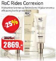 Rides Correxion Hidrantne kreme sa Retinolom i Hijaluronom u efikasnoj borbi protiv bora