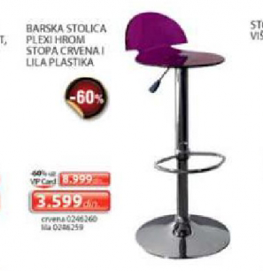 Barska stolica Plexi