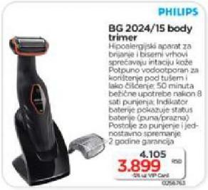Trimer za brijanje BG 2024/15