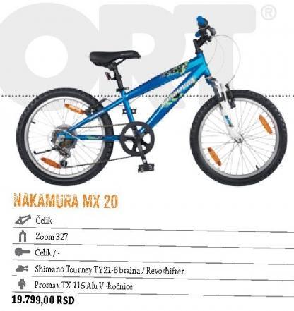 Nakamura MX 20