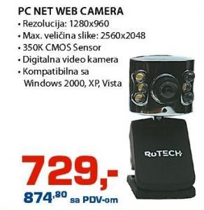 Web kamera Pc Net Rotech