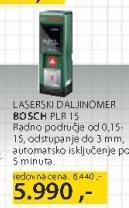 Laserski daljinomer PLR15