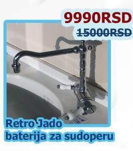 Baterija za sudoperu Retro Jado