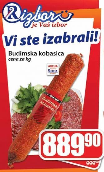Kobasica budimska