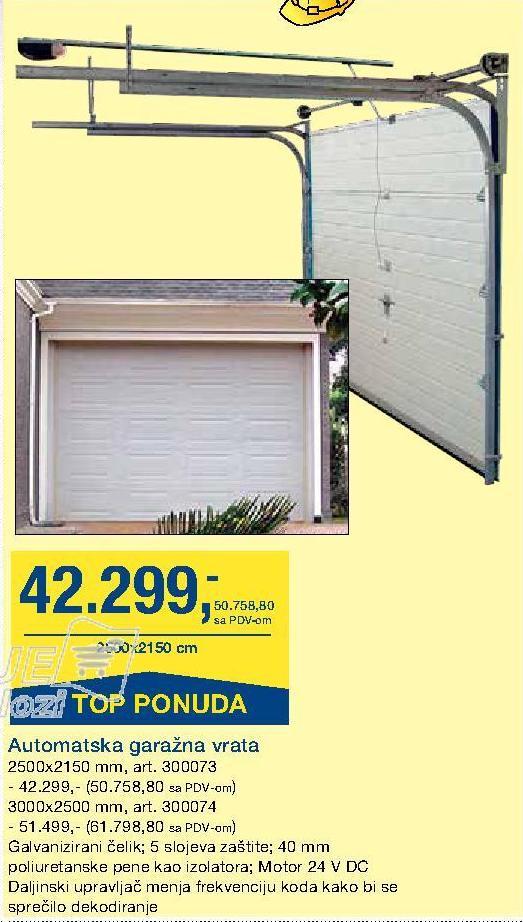 Vrata garažna