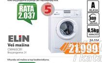 Mašina za pranje veša CMA65C81