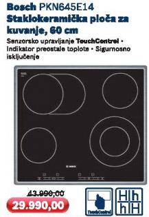 Staklokeramička ploča Pkn645e14