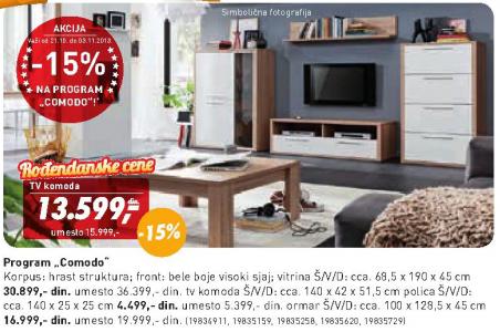 TV komoda Comodo