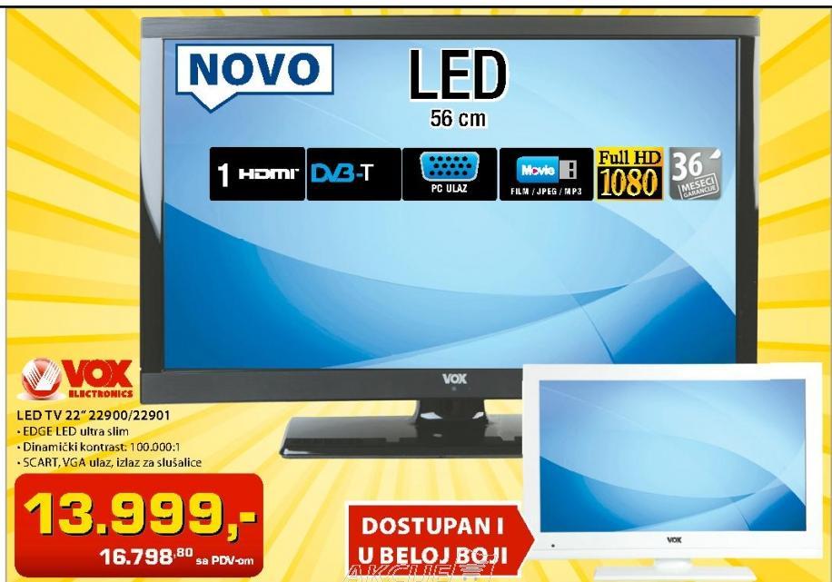 Televizor LED 22900