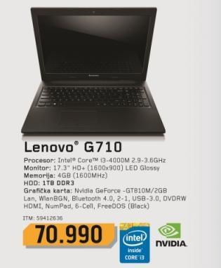 Laptop G710 59412636
