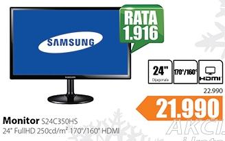 Monitor S23C350HS