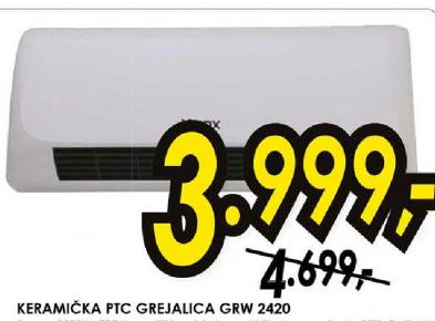 Grejalica GRW-2420